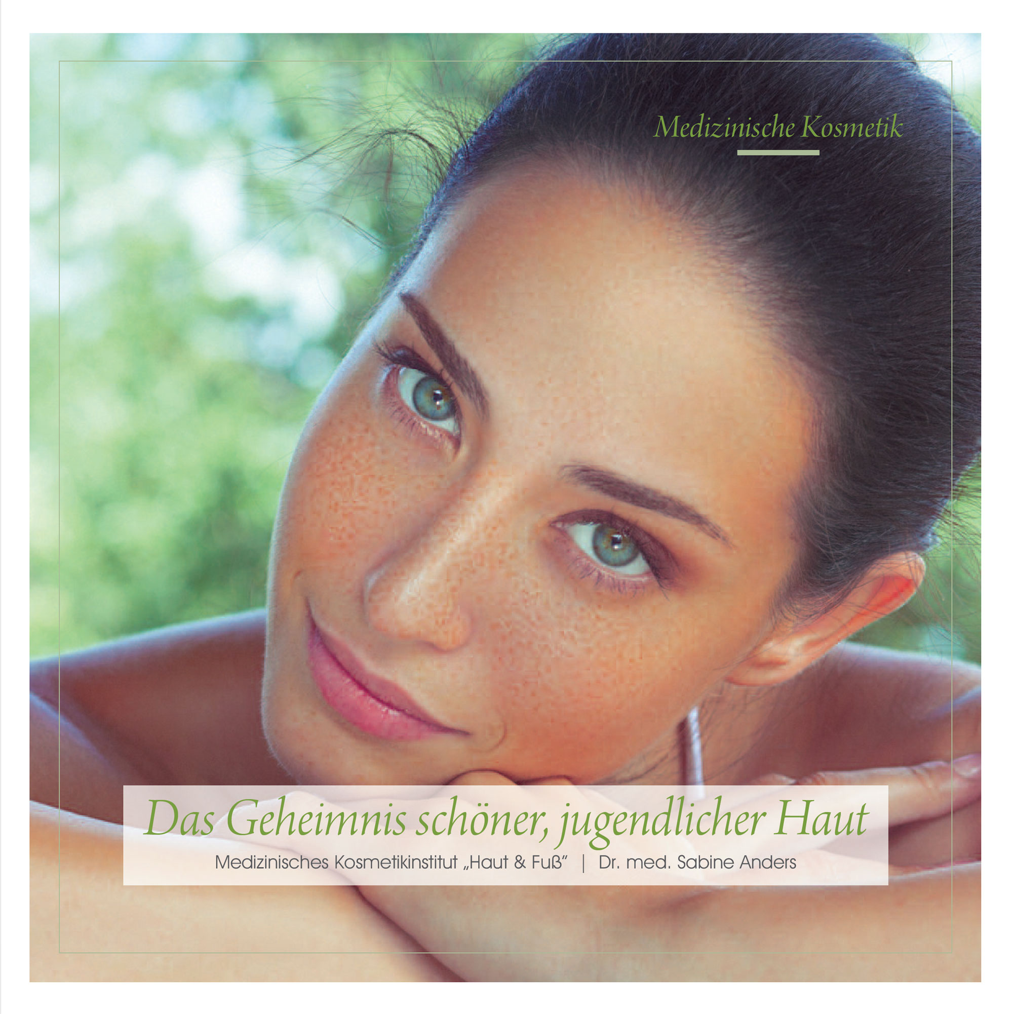 Beautybroschuere Dr. med. Sabine Anders